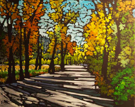 """""""The Resting Place"""" 16 x 20 Oil on canvas $1,360"""